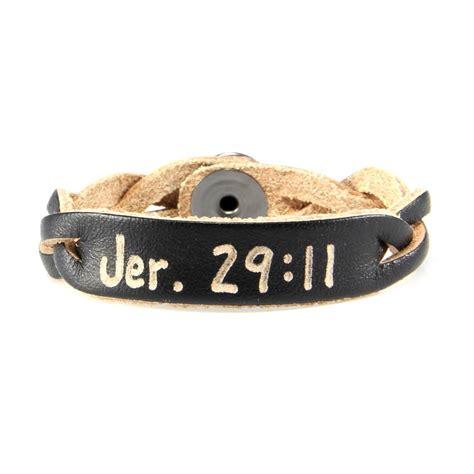 custom leather bracelets jeremiah 29 11 scripture bracelet personalized leather bracelets