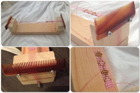diy bead loom make your own beading loom diy jewelry