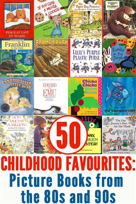 the best picture books 50 classic picture books from the 80s 90s childhood101