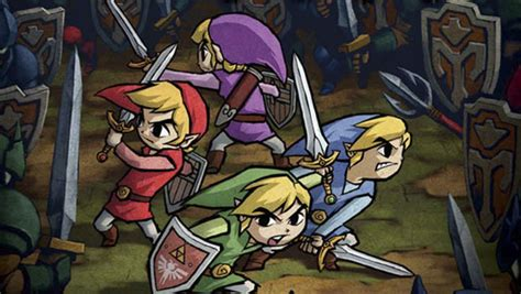 legend of four swords free four swords to hit 3ds eshop in september