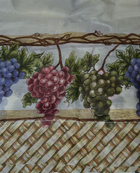 grape kitchen curtains grapes kitchen curtains collections etc vineyard grapes