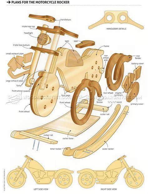 rocking woodworking plans rocking motorcycle plans woodarchivist