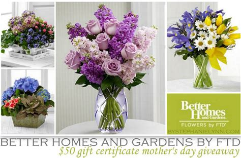 better homes and gardens flowers by ftd 50 s day