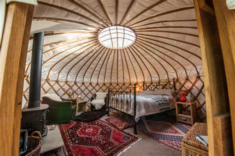 luxury yurt homes cotswold yurts four secluded luxury yurts each set in
