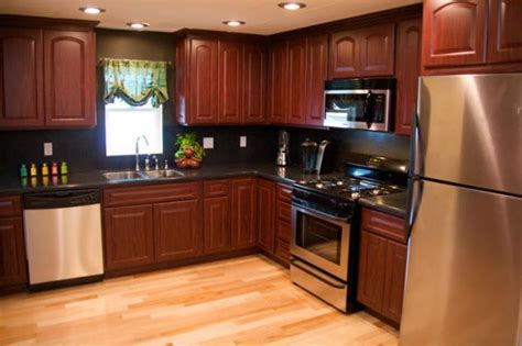 mobile homes kitchen designs country decorating in a single wide trailer studio
