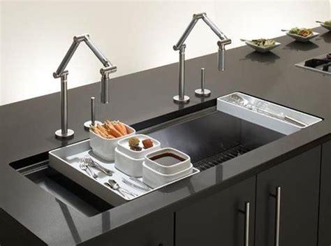 modern kitchen sinks modern kitchen sink materials and design ideas