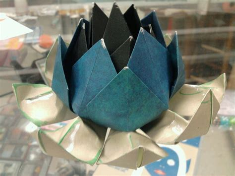 origami black lotus black lotus origami by melissajp on deviantart