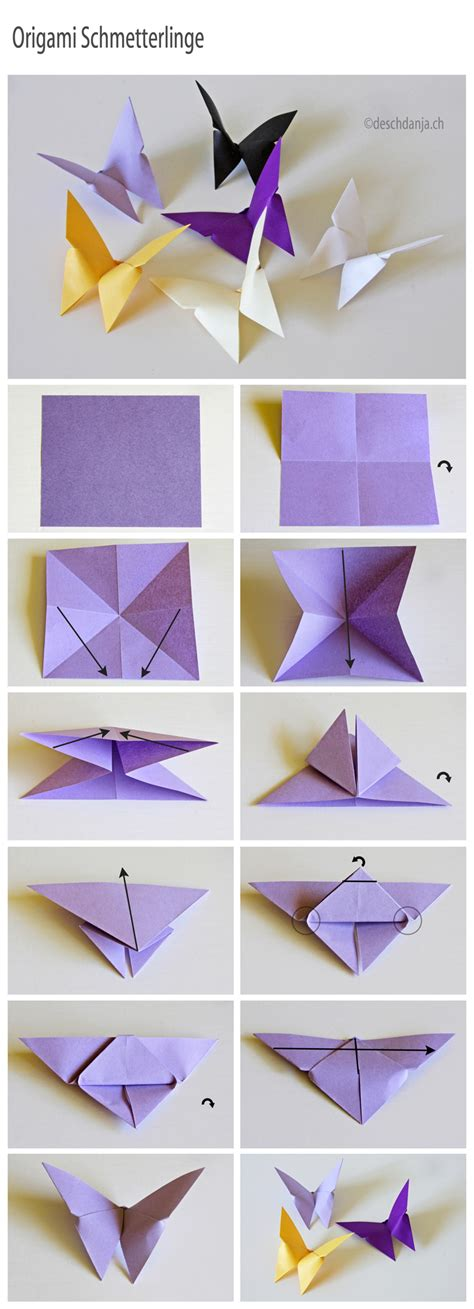 origamy butterfly easy paper craft projects you can make with