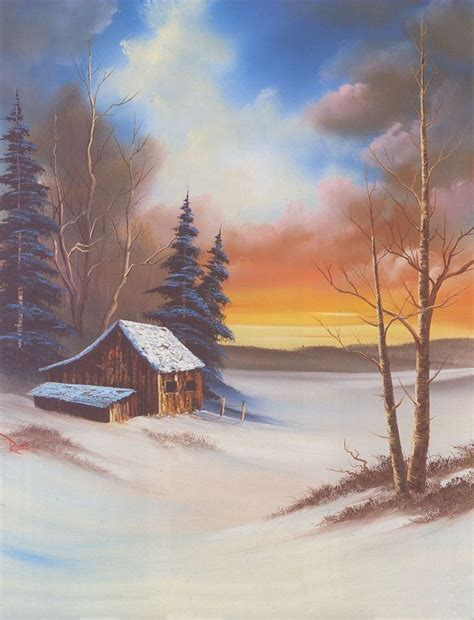 bob ross painting cabin 25 best ideas about bob ross on bob ross