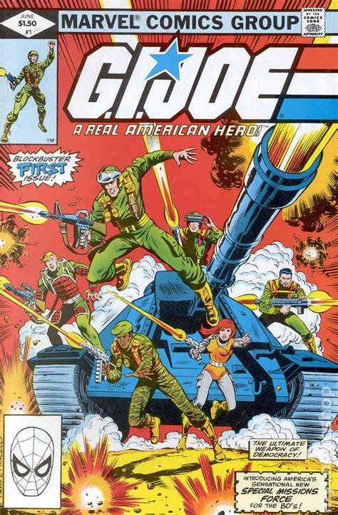 pictures of comic books gi joe 1982 marvel comic books
