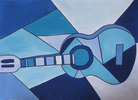 picasso paintings easy picasso blue guitar forecastingirl