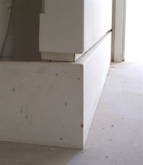shadow bead drywall detail baseboard 171 home building in vancouver
