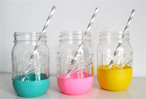 these balloon quot dipped quot mason jars are one of the easiest