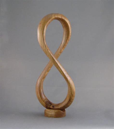 infinity woodworking elm wood infinity sculpture wooden treasures