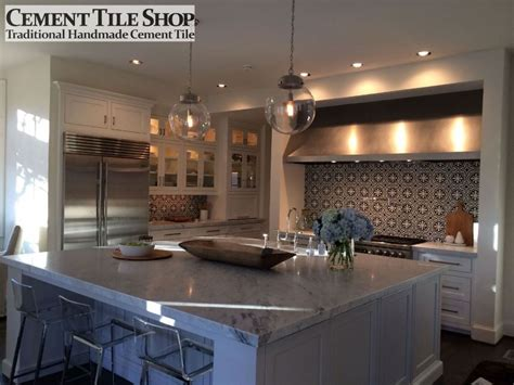 Backsplash Tile Ideas For Bathroom kitchen backsplash cement tile shop blog