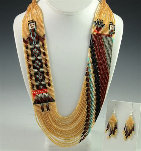 indian beaded jewelry navajo beaded necklace by rena charles hoel s indian shop