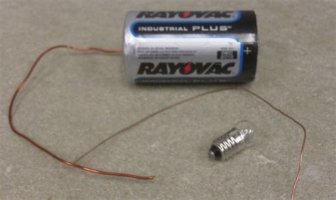 how to wire lights to a battery when lighting a lightbulb use a thicker wire wired