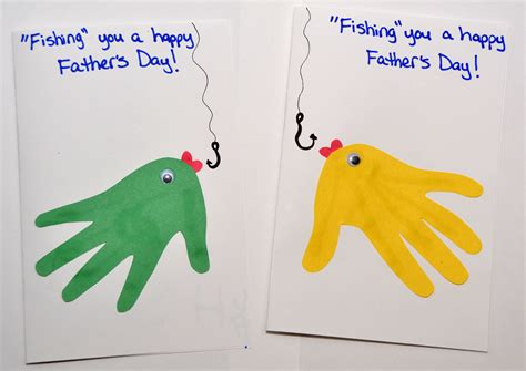 Simple Fathers Day Crafts For