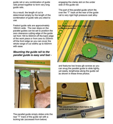 woodworking guides woodworking guide rail diziwoods