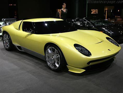 Lamborghini Miura Concept High Resolution Image (1 of 12)
