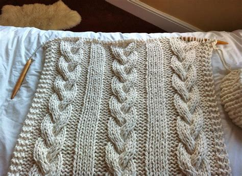 blanket knitting you to see cable knit blanket knitting on