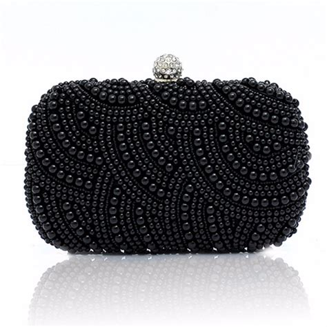 beaded clutch bag pearl beaded clutch bag bridal handbag
