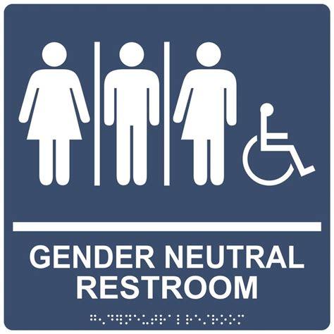 Gender Neutral Bathroom by Best 25 Gender Neutral Bathroom Signs Ideas On