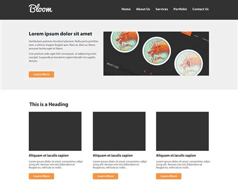 create layout 40 best tutorials to design website templates in