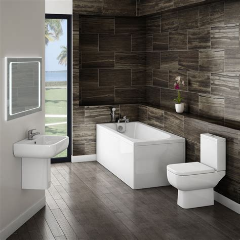 modern bathroom small modern bathroom suite at plumbing uk