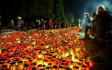 st s day all saints day mirogoj cemetery in zagreb nikola