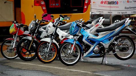 Modifikasi Satria Fu by Top 9 Foto Modifikasi Motor Suzuki Satria Fu 150