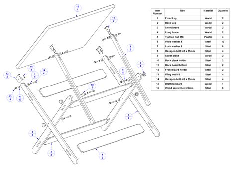 draft a blueprint of your home free wooden drawing board plans