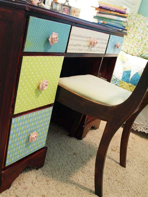 decoupage desk mais de 1000 ideias sobre decoupage desk no