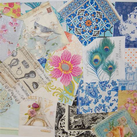 decoupage paper napkins decoupage napkins lot 20 beautiful paper napkins 20