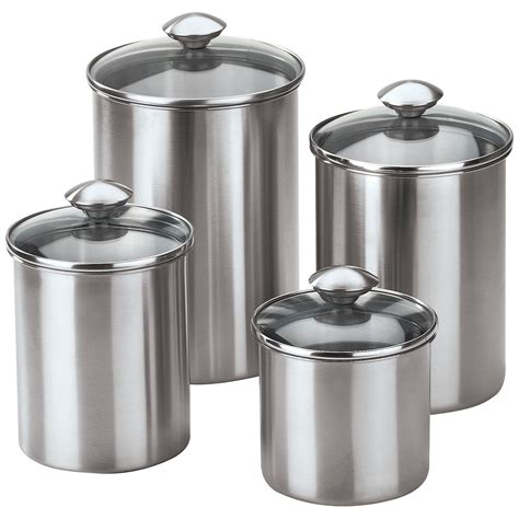stainless steel kitchen canisters stainless steel canisters kitchen 28 images oggi