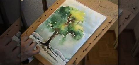 how to paint how to paint a tree in watercolor 171 painting tips
