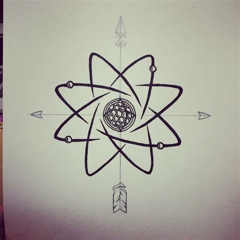 best 25 atom tattoo ideas on pinterest compass for