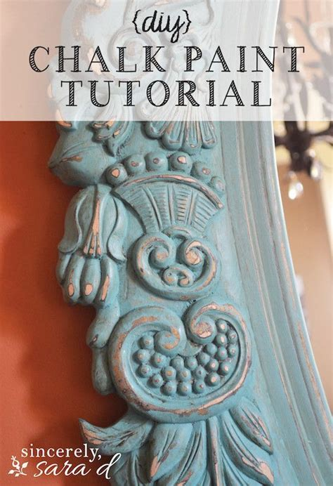 diy chalk paint mirror mirror chalk paint tutorial awesome furniture and diy