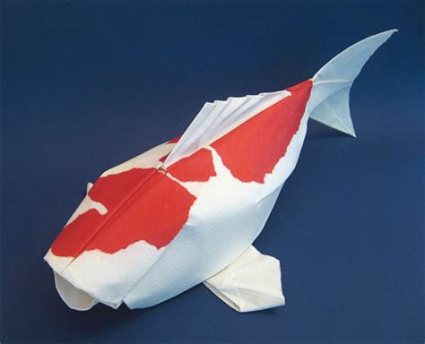 origami puffer fish paper animals