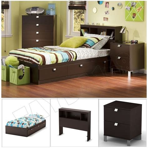 modern bed set 3 chocolate modern bedroom furniture collection