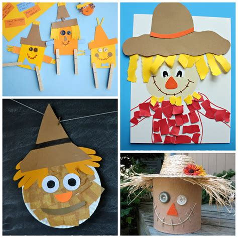 scarecrow craft for scarecrow crafts for to make this fall crafty morning