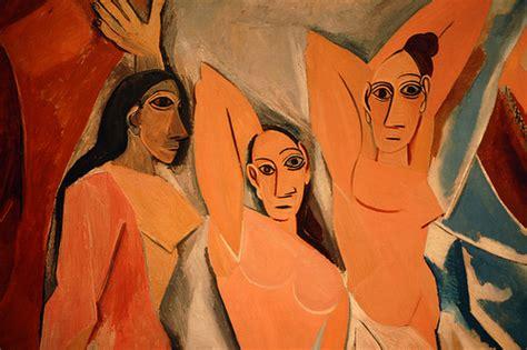 picasso paintings les demoiselles le demoiselle d avignon particolare flickr photo