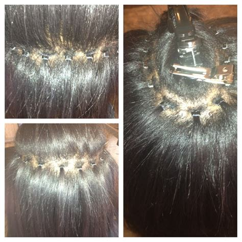 what hair is used for braidless sew in microlink braidless sew in yelp