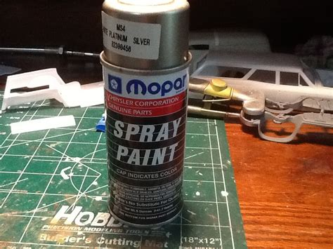 Mopar Touch Up Spray Paint Model Building Questions And