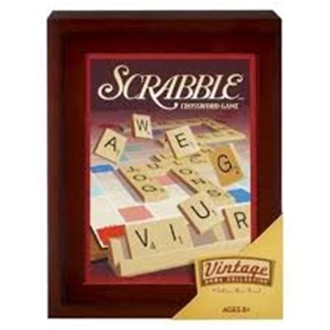 scrabble brothers brothers vintage collection exclusive wooden