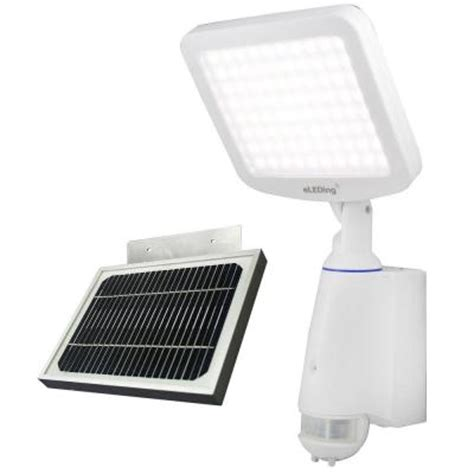 home depot solar flood lights eleding 180 degree motion white outdoor indoor