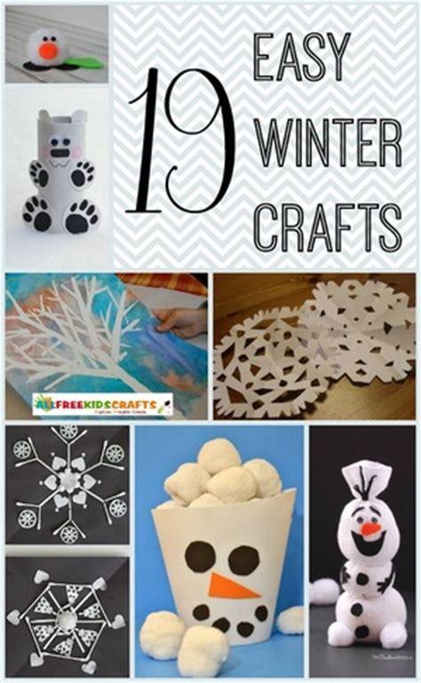 winter crafts for to make easy 19 easy winter crafts for allfreekidscrafts