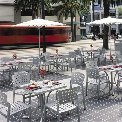 commercial outdoor patio furniture impressions cafe tropitone