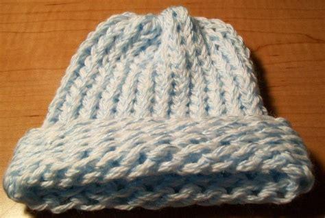 loom knit newborn hat the crafty princess diaries 187 loom baby hats