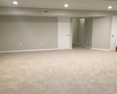 paint colors for basement walls finished basement remodel project walls painted with